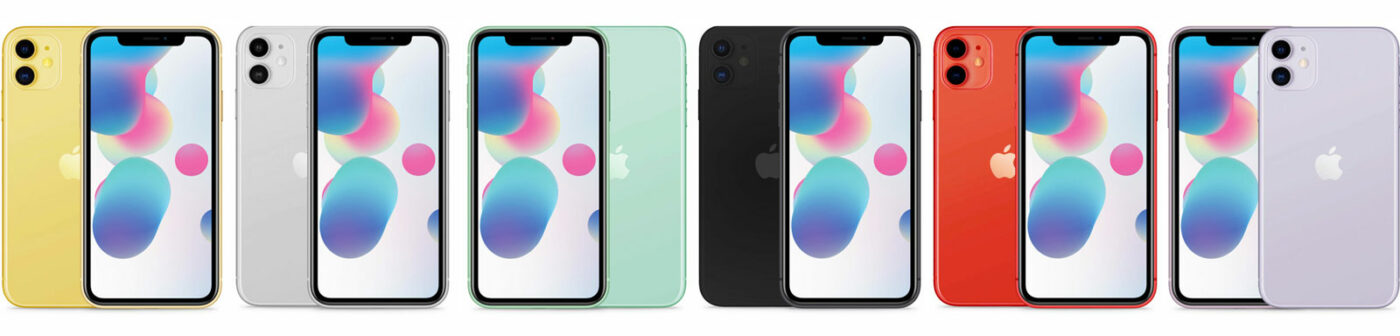 iPhone 11 Modelle – Alle  Farben