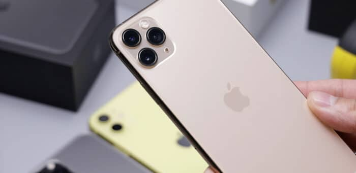 Refurbished iPhone 11 Pro Max in Gold